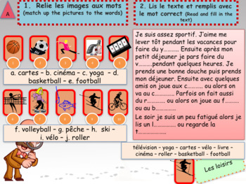 French summer revisions bundle for beginners