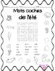 2 French summer word search : 2 Mots cachés de l'été