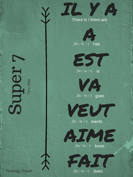 French super 7 verbs