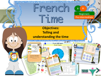 French telling the time full lesson for beginners