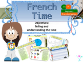 French telling the time, quelle heure est-il? for beginners