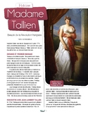 French text + activities + teacher's preparation: Madame Tallien