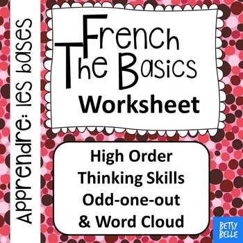 French, The Basics: Worksheet