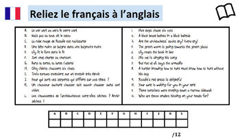 French tongue twisters/ Virelangues