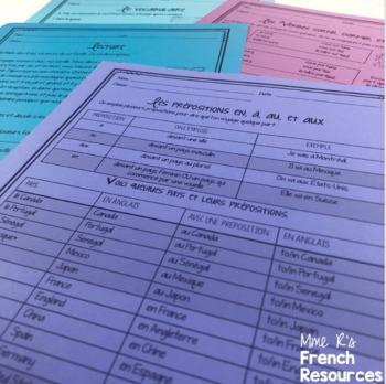 French travel bundle LES VOYAGES
