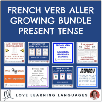 French verb ALLER EXPRESSIONS Bundle