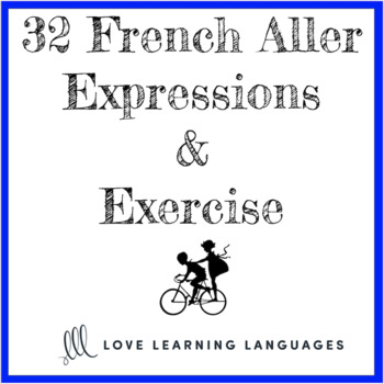 French verb ALLER expressions and exercise