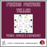 French verb DEVOIR - IMPERFECT TENSE fortune tellers for c