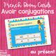 French verb avoir task cards BOOM CARDS LE VERBE AVOIR