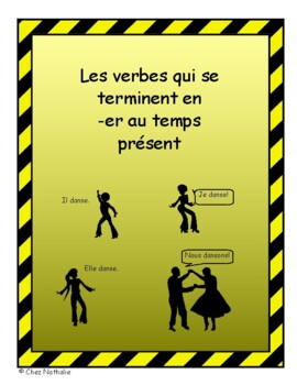 French Verb Conjugations, 1st Group (er verbs) in Present Tense