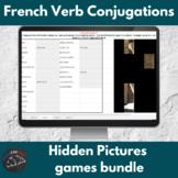 French verb conjugations bundle - Hidden Images