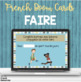 French verb faire task cards BOOM CARDS LE VERBE FAIRE