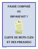 French Verb Tenses - passé composé ou imparfait