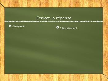 French verbs--aller and venir