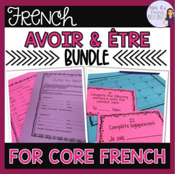 Avoir ȇtre bundle for beginners