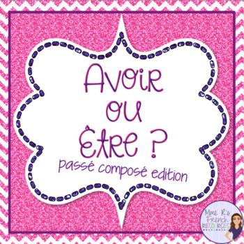 French verbs avoir and être - passé composé