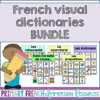 French visual dictionaries - BUNDLE