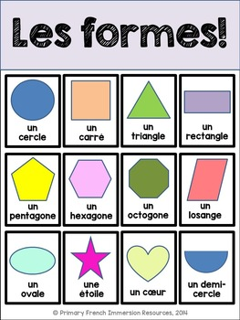 French visual dictionaries - Les dictionnaires visuels - Basic Vocabulary
