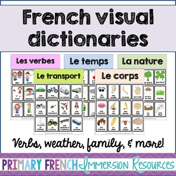French visual dictionaries - Les dictionnaires visuels - Version 3