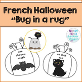 French vocabulary game - Bug in a rug - Halloween - Jeu de vocabulaire