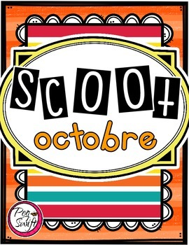 French Vocabulary Game - SCOOT octobre
