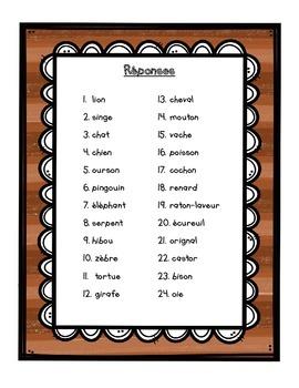 French Vocabulary Game - SCOOT novembre