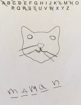 French vocabulary game (like Hangman/Pendu--but with cat faces)
