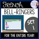 French warm-ups and bell ringer activities ACTIVITÉS DE TRANSITION