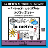 French - weather – la météo - activities