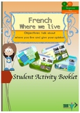 French where we live booklet for beginners/pre intermediate