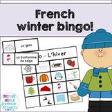 French winter / l'hiver - bingo