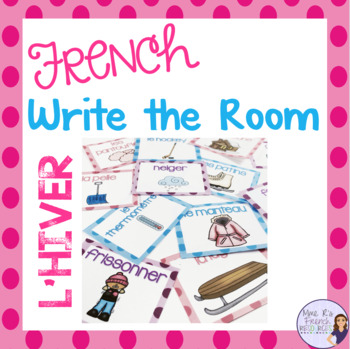 French winter write the room L'HIVER