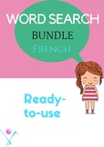 French word search bundle