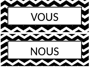 French word wall/ Mots murs