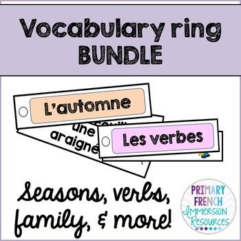 French word wall strip BUNDLE