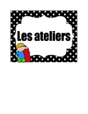 French workshop posters/ Les ateliers