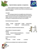 French writing activity - Projet écrit: Journal d'aventure