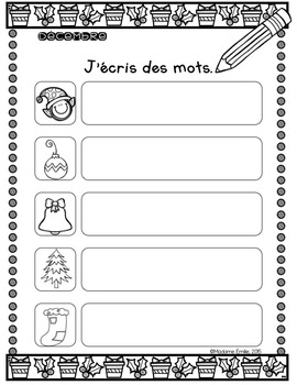 French writing journal/ Orthographe approchée {Journal}