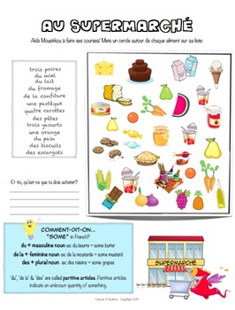 French Workbook for Beginners - Unit 3 of 5