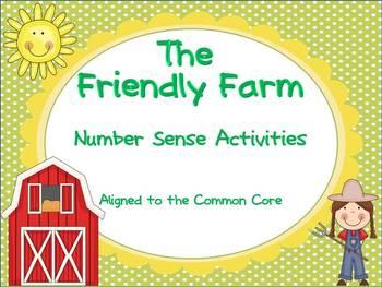 Frendly Farm Number Sense Activities