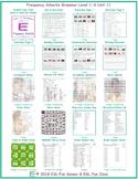Frequency Adverbs Grammar Level 1-A Unit 11 Bundle
