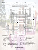 Frequency Adverbs Spanish Crossword Puzzle