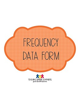 Frequency Data Form