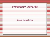Frequency adverbs speaking activity
