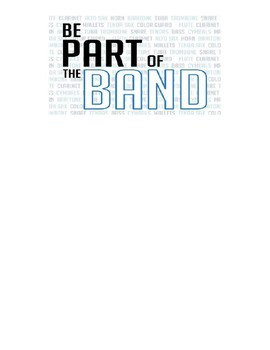 Frequently Asked Questions About Beginning Band