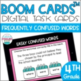 Frequently Confused Words BOOM CARDS™ Digital Task Cards