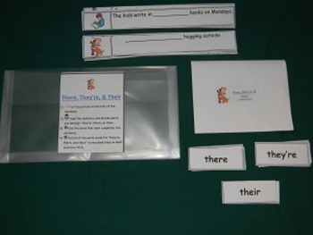 Frequently Confused Words Multipack- 3 GAMES: they're, their two, too you're
