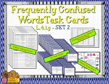 Frequently Confused Words Set 2 L.4.1.g