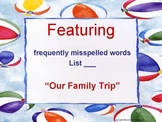 Frequently Misspelled Words - Writing