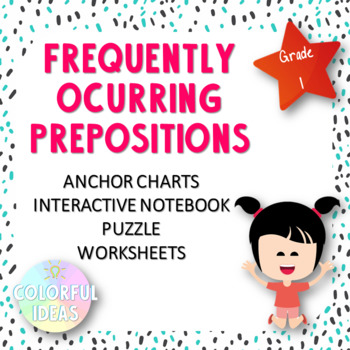 Frequently Ocurring Prepositions for Primary Grades